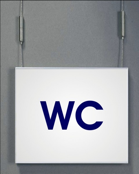 Deckenhänger   System Karlsruhe   42 cm x 15 cm