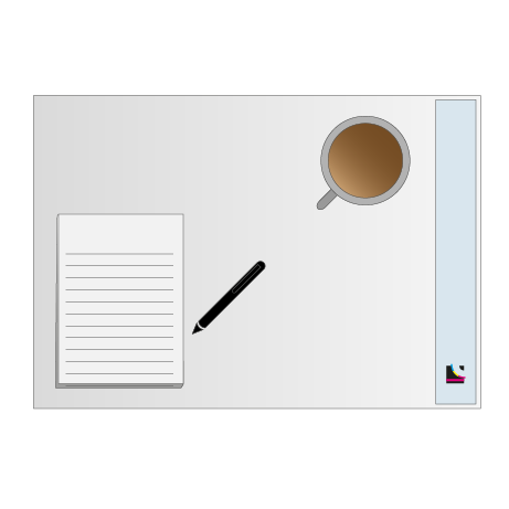 Schreibtischunterlage   50 Blatt   DIN A2
