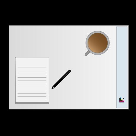 Schreibtischunterlage | 50 Blatt | DIN A3