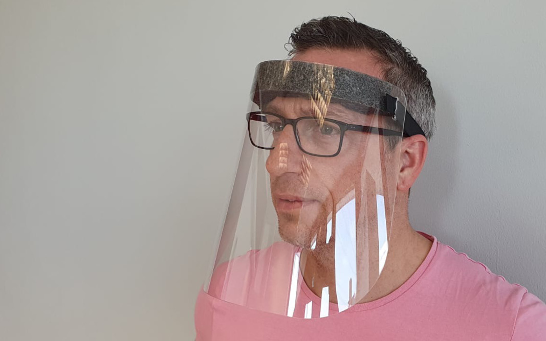 Gesichtsschutzmaske